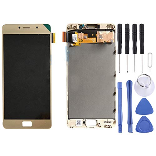 Wangl Lenovo Spare LCD Screen and Digitizer Full Assembly with Frame for Lenovo Vibe P2 / P2a42 / P2c72 (Black) Lenovo Spare (Color : Gold)