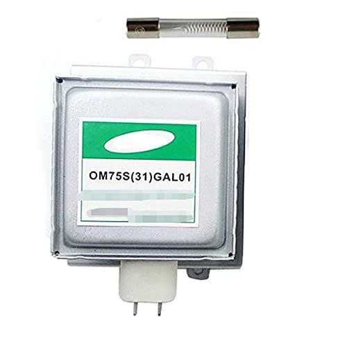 PUGONGYING Popular Accesorios de Horno de microondas Fit para Samsung Magnetron OM75S (31) GAL01 Piezas de Horno de microondas de magnetro reformado Durable