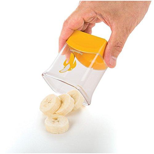 Prep Solutions by Progressive Banana Slicer, cortar plátanos perfectos fácil de usar, cortar y cortar verduras y frutas, apto para...