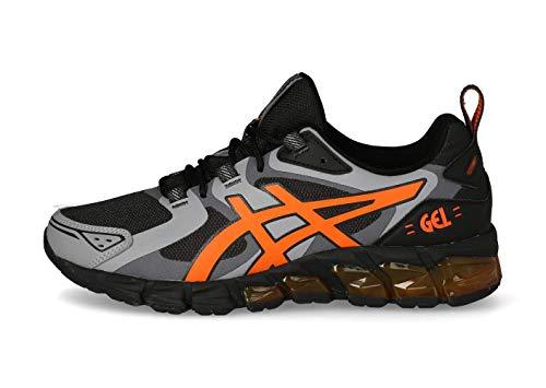 ASICS Herr Gel-Quantum 180 Sneaker, Grafit grå ringblomma orange - 46 EU