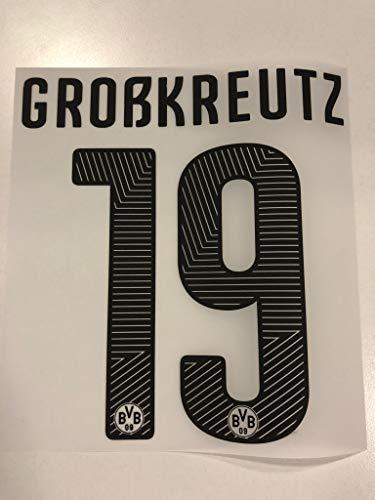 Flock Original BVB Borussia Dortmund Trikot 20cm - GROßKREUTZ 19