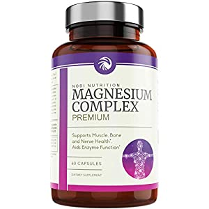 High Absorption Magnesium Complex: Made with 500 mg of magnesium in an easy to swallow capsule form that helps boost healthy magnesium levels and supports a calming and unique relaxing experience. Heart Health, Stable Blood Sugar & Digestion: Magnesi...