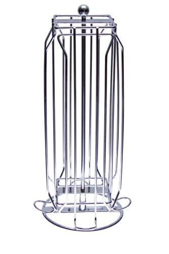 Distributeur Porte Capsules pour 20 capsules Dolce Gusto - 4 Colonnes Inox - Pivotant