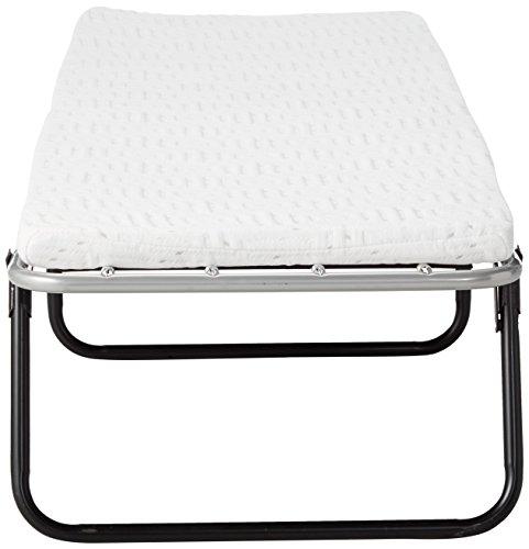 Broyhill Foldaway Guest Bed: Folding Steel Frame with Gel Memory Foam Mattress, 2' Single