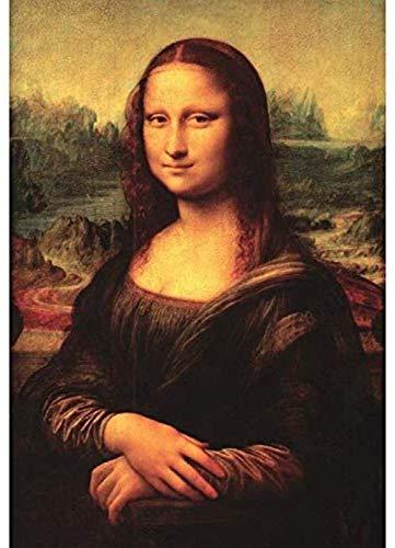 Puzzles Para Adultos Rompecabezas De 1000 Piezas Mona Lisa Famous Assembly 'SU De Juegos Educativos Juguetes Niños Puzzles Para Adultos Es Un Buen Regalo Para Amigos,Juego Familiar