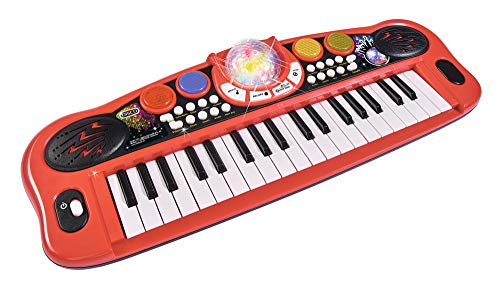 Simba 106834101 106834101-My Music World Disco Keyboard