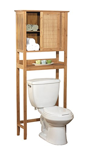 Target Marketing Systems Bamboo Cabinet, Natural