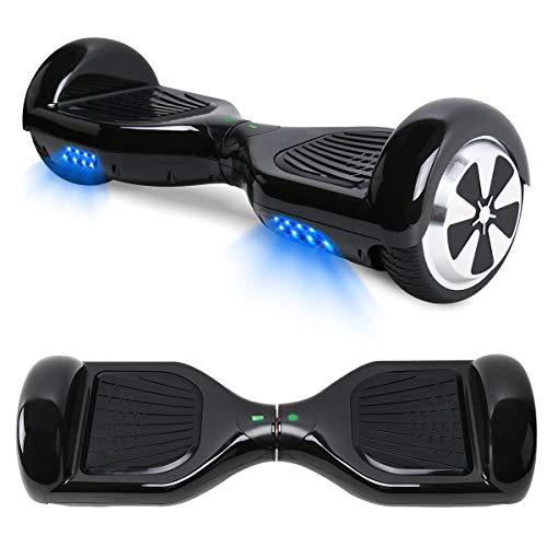 TOEU Hoverboard Scooter Elettrico Autobilanciato, con Bluetooth e Luci...