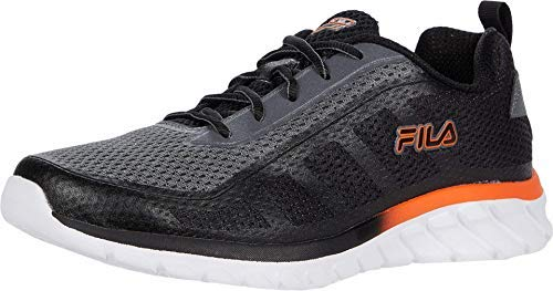Fila Memory Dizkize 2 Men's Running 11 D(M) US Grey-Black-Tango