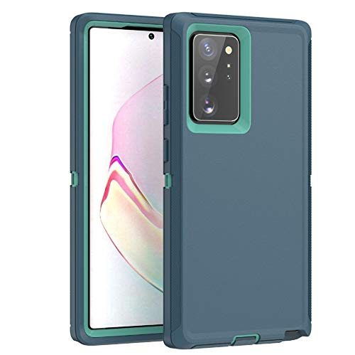 Defensive Case for Samsung Galaxy S20 (6.2 Inch),[NO Screen Protector][Heavy Duty][Drop Protection] Tough Case with Swivel Holster Belt Clip - Aqua