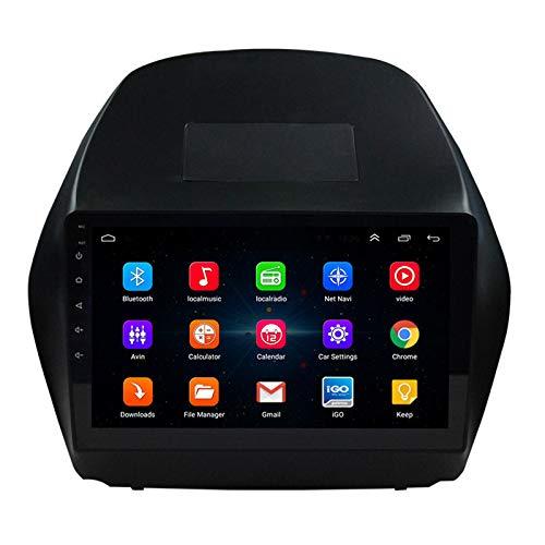 MALY Navigazione Autoradio Autoradio GPS È Adatto per Hyundai IX35 Navigatore Macchina Video Integrato Grande Schermo Inversione Android Intelligente