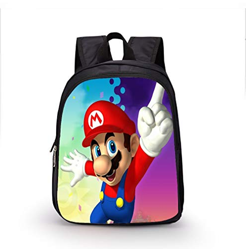 Appiu 12 inch cartoon school bag kindergarten boys and girls backpack, travel, outdoor (Color : 6)