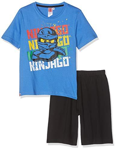 LEGO NINJAGO Jungen 5536 Zweiteiliger Schlafanzug, Blau, 140