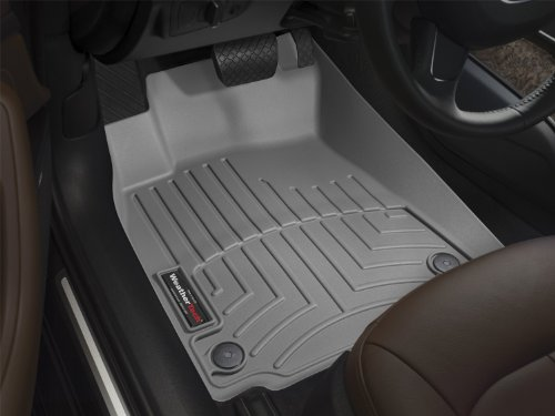 WeatherTech Custom Fit Front FloorLiner for Toyota Tundra, Grey