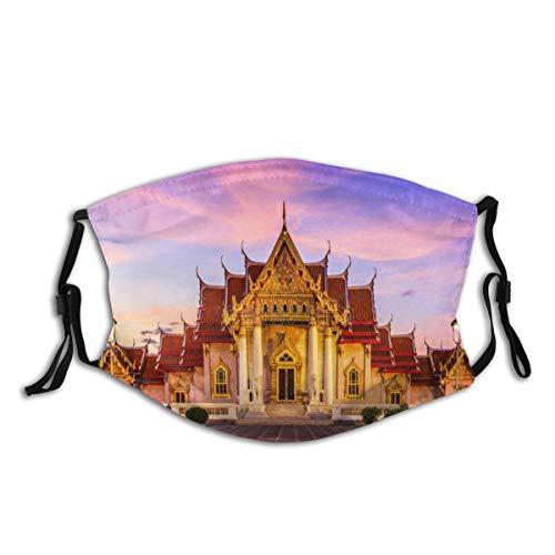 Waschbarer Mundschutz Anti-Staub-Gesichtsschutz,Bangkok, Thailand,Wiederverwendbar winddicht für Outdoor-Ski Radfahren Camping Laufen
