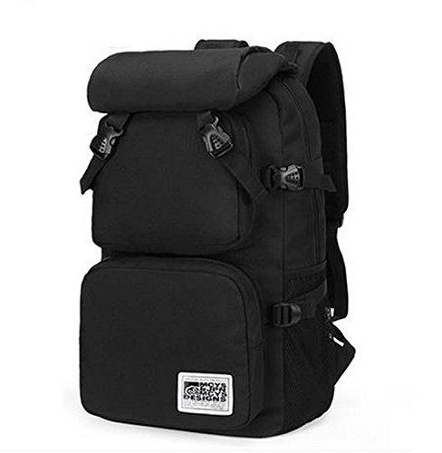 "sac à dos d'escalade de plein air sac à dos pour ordinateur portable 15.6"" Noir"