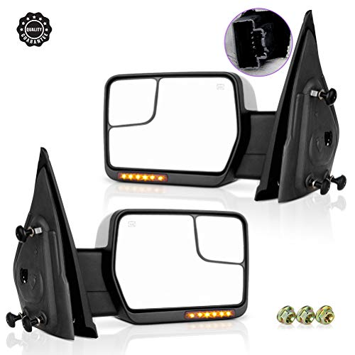 08 ford f150 tow mirrors - 8