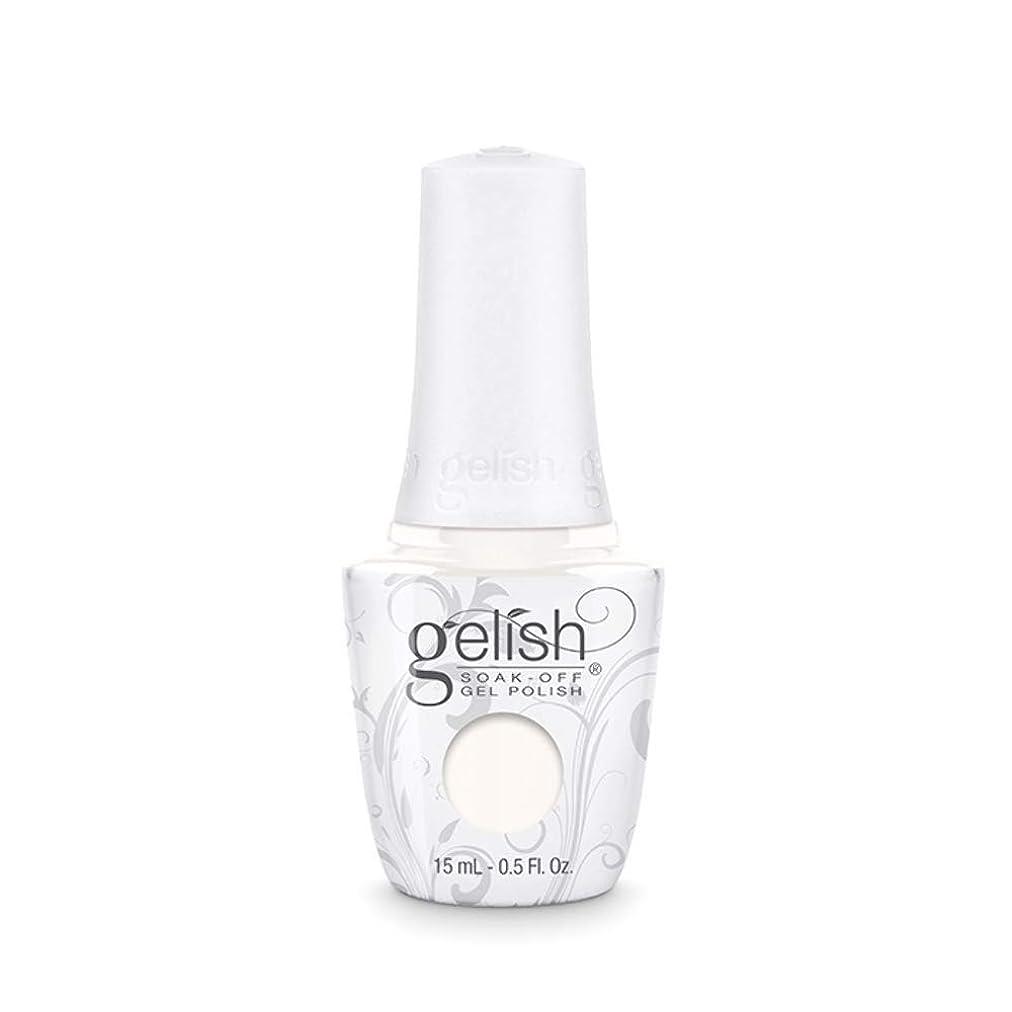 こっそり同一性恐怖Harmony Gelish Gel Polish - Sheek White - 0.5oz / 15ml