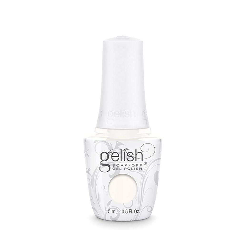 除去ジェーンオースティンバルブHarmony Gelish Gel Polish - Sheek White - 0.5oz / 15ml