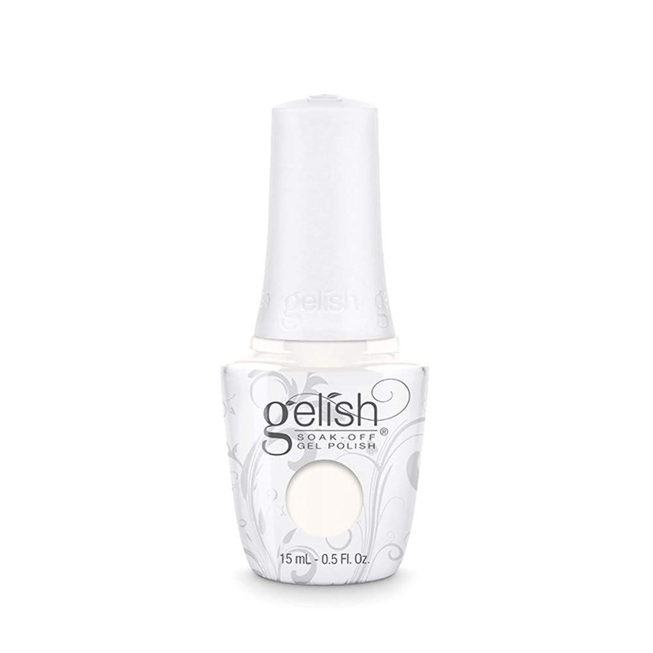 極小怠惰更新Harmony Gelish Gel Polish - Sheek White - 0.5oz / 15ml