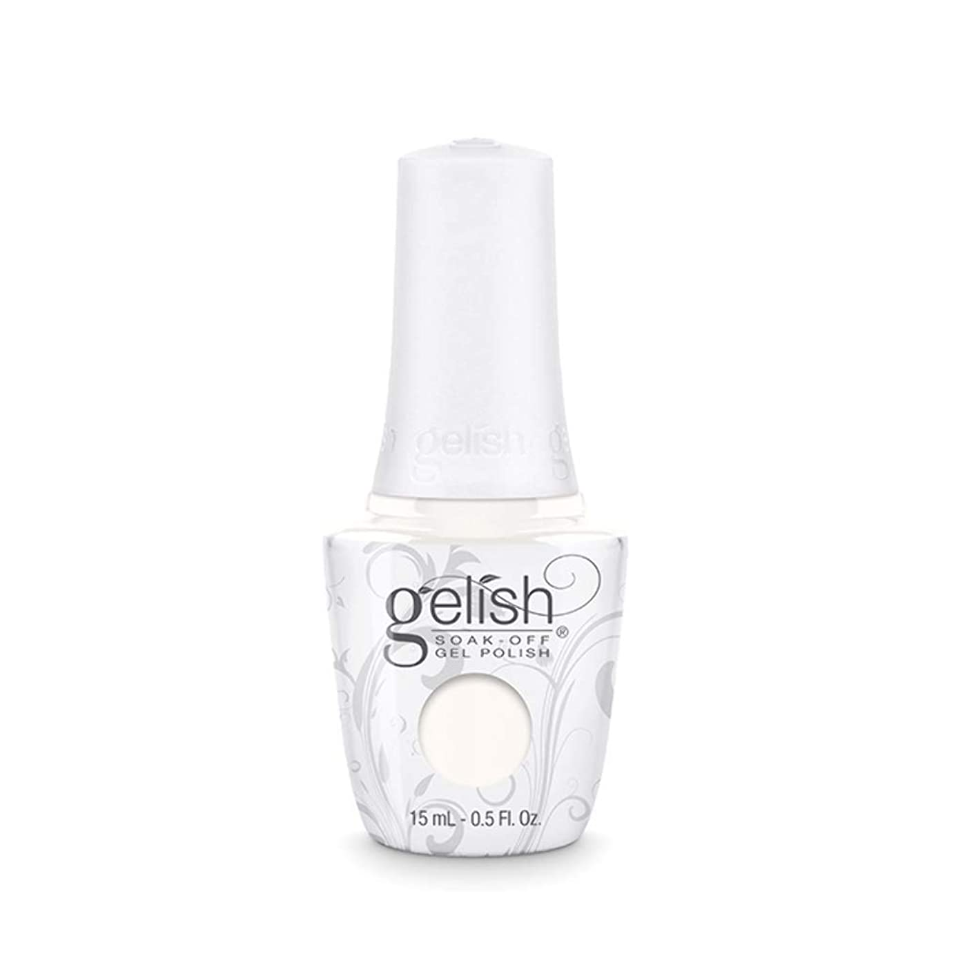 申し立てられた本当のことを言うと何よりもHarmony Gelish Gel Polish - Sheek White - 0.5oz / 15ml