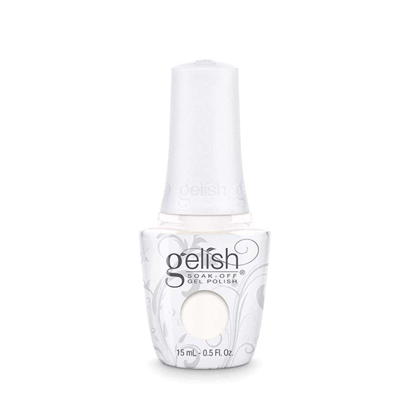 故障モロニック共同選択Harmony Gelish Gel Polish - Sheek White - 0.5oz / 15ml