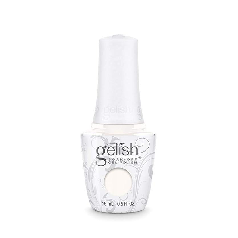 種をまく彼らのもの高いHarmony Gelish Gel Polish - Sheek White - 0.5oz / 15ml