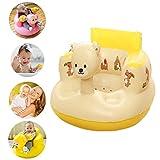 Soulitem Kinder Baby Aufblasbarer Sessel, Sofa, Badesitz, Esszimmer, Kinderwagen, PVC, Tragbare Spielmatte