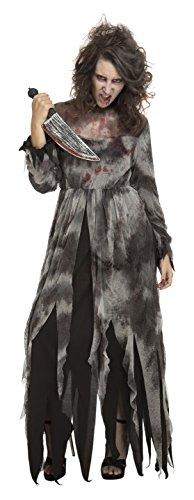 Desconocido My Other Me-204226 Disfraz de demente psicpata para mujer, S (Viving Costumes 204226)