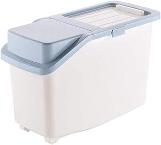 LLRYN Cuisine Super Grand Contenant de Riz Boîte de Rangement de Riz à Grains , Boîte de conteneur de céréales Boîtes de F...