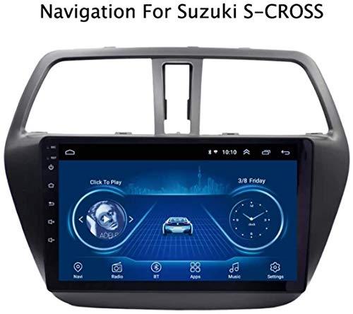Android 8.1 CJK de navegación del Coche de 9 Pulgadas para Suzuki S-Cross 2014-2017 SWC WiFi OBD Soporte de la cámara de vídeo para revertir el Transporte marítimo de automóviles | 2 DIN