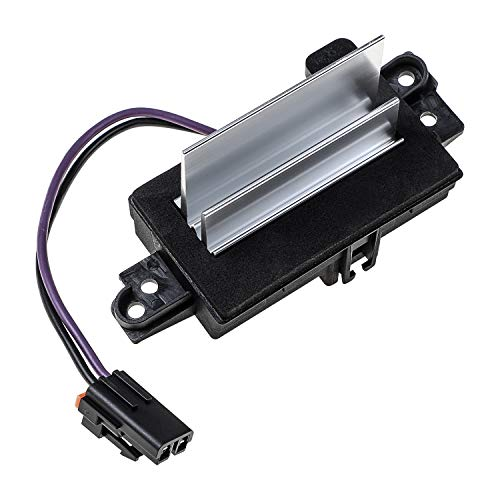 Upgraded Design Car HVAC Blower Motor Resistor AC Heater Fits for Buick Cadillac Chevy GMC Oldsmobile Replace# 4P1516 4P1595 RU-631 Blower Motor Resistor