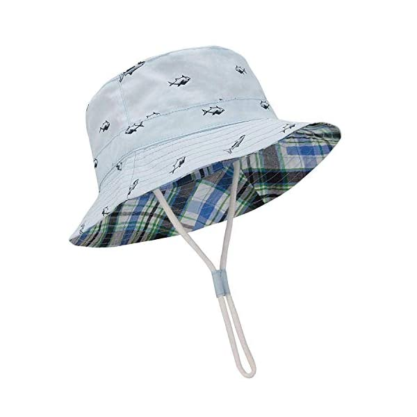 Century Star Baby Sun Hat UPF 50+ Sun Protection Toddler Hats Boys Girls Wide Brim Summer Beach Bucket Hat