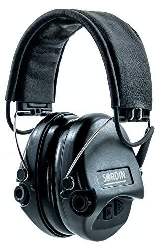 Sordin Supreme Pro Cascos - Auriculares Ultrafinos Electrónicos | Orejeras de Protección...