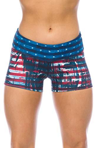IABMFG Premium Woman's Compression Workout Shorts