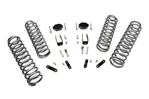 """Rough Country 2.5"""" Lift Kit (fits) 2007-2018 Jeep Wrangler JK 2DR 
