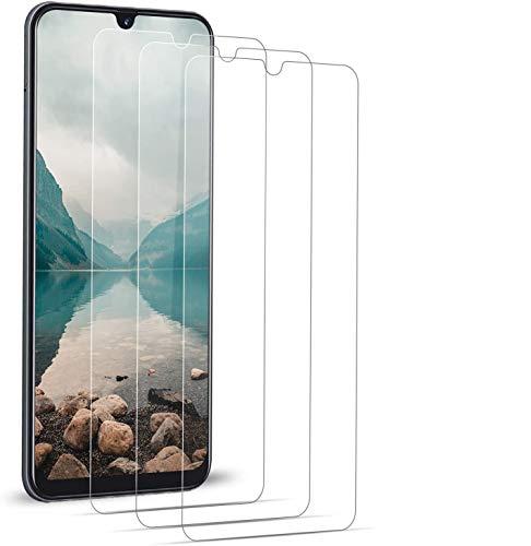 BOBI Verre Trempé pour Samsung Galaxy A50 [3 Pièces] Film Protection écran pour Samsung Galaxy A50 [Anti Rayures,Sans Bulles,9H Dureté,Haute Sensibilité]