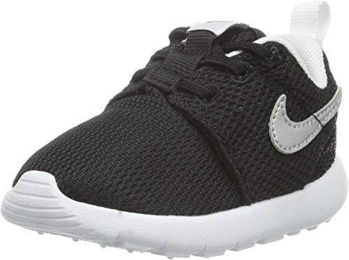 Nike Nike Jungen Roshe One (TDV) Sneaker, Schwarz (Nero (Black/Metallic Silver/White/White) Black/Metallic Silver/White/White), 23.5 EU