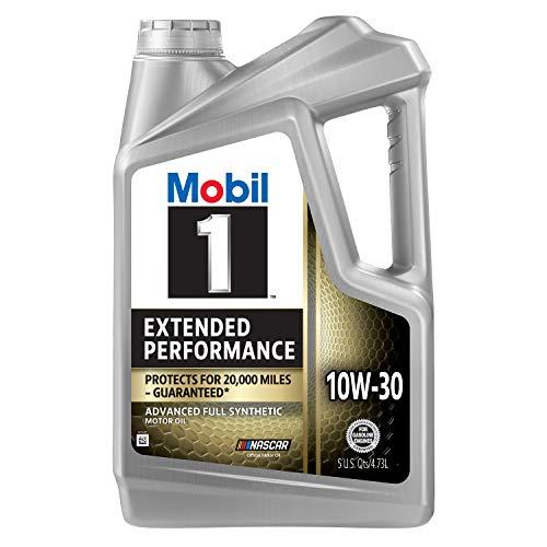 Mobil 1 Extended Performance Full Synthetic Motor Oil 10W-30, 5 Quart