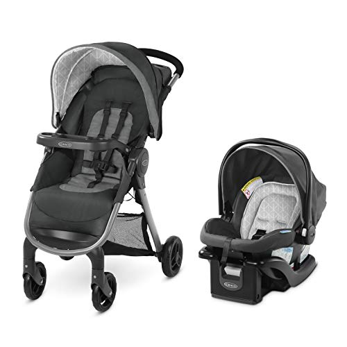 GRACO FastAction SE Travel System Includes Quick Folding...