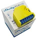 Shelly RGBW2 Wireless Relais, LED-Streifen, 12-24 Volt, Amazon Alexa und Google Home, 1 Stück