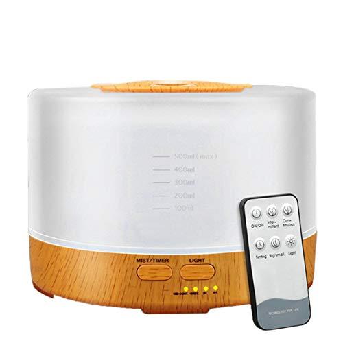 Afstandsbediening LED luchtbevochtiger Home Office ultrasone koeling mist stoomvernevelaar quiet diffuser luchtreiniger mistfabrikant