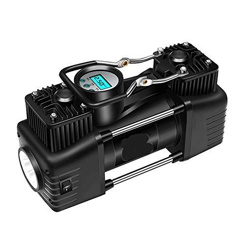 WNN-URG LED Digital del compresor de Aire de la Bomba 12V del neumático del Coche de la Bomba for inflar con Linterna de Emergencia for el Coche Canoa, Airbed, Bicicletas URG