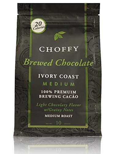 Choffy - Brewed Cocoa - Ivory Coast Medium Roast 10oz. bag