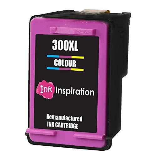 Tricolore INK INSPIRATION® Cartuccia d'Inchiostro Rigenerata Sostituzione per HP 300 300XL Deskjet D1660 D2530 D2545 D2560 D2660 D5560 F2420 F2480 F4210 F4240 F4280 F4580 F4583 Photosmart C4780 C4680