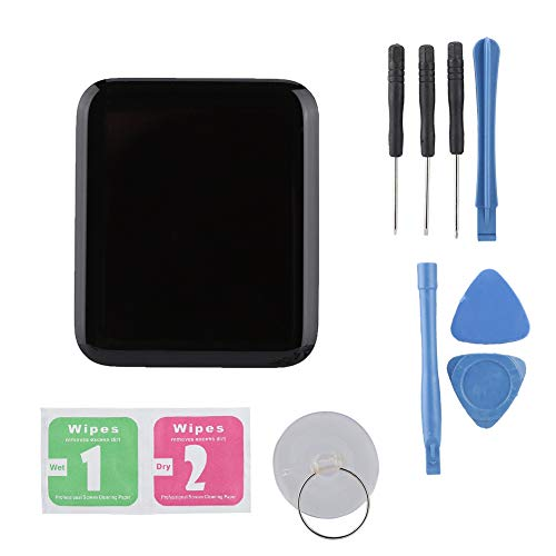 Mavis Laven Kit de Reparación de la Pantalla del Reloj Inteligente, Reemplazo Original de la Pantalla Táctil de la Pantalla LCD del Reloj Inteligente(42 mm)