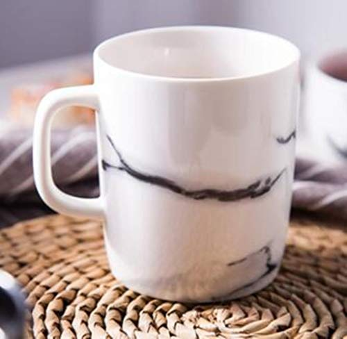 Copas De Champán, Tazas, Regalos Tazas De Té De Café Con Diseño De Mármol De Cerámica De 300 Ml, Tazas De Porcelana Para Oficina, Tazas Para Beber, Vajilla, Taza De Café De Mármol Nórdico