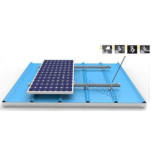 Struktur Schalttafel Solar -Stütze Platten Solar proprietäres para todos Arten von Paneele Solar Typ Sandwich Furnier Okay für 4 Schalttafel