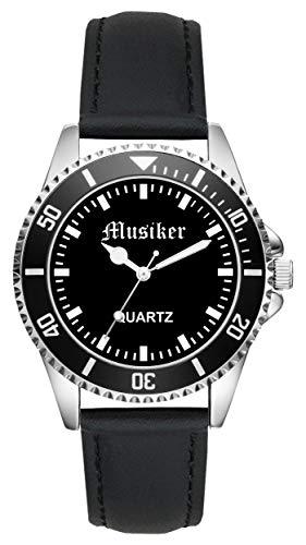 Geschenk für Musiker Rock Pop Beruf Uhr L-2234