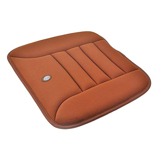 Lancei Auto Sitzkissen, Soft Car Sitzkissen Pad Memory Foam Orthopädisches Sitzkissen Kostenlos Gebündelt rutschfest Waschbar Atmungsaktiv Anti-Skid Kissen Druckentlastung